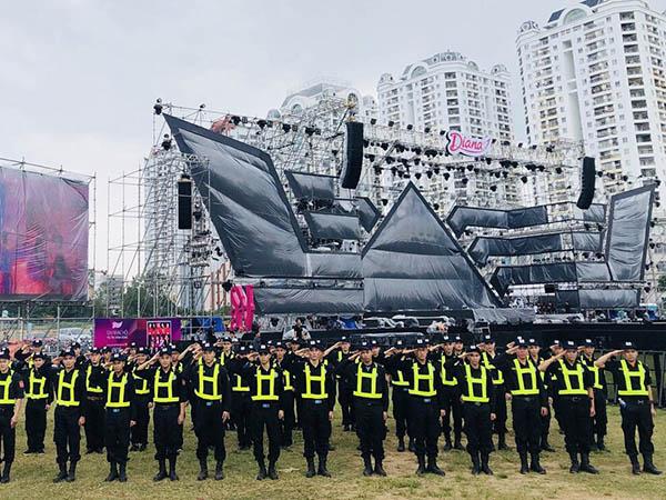 bảo vệ sự kiện đêm ca nhạc